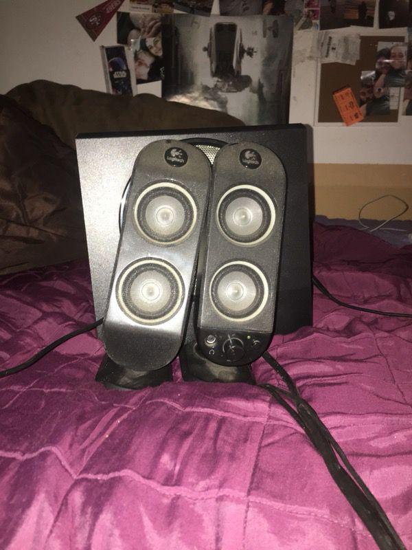 Aux Speaker Set