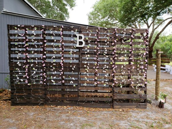 Wood Pallet Wedding Backdrop For Sale In Plant City FL