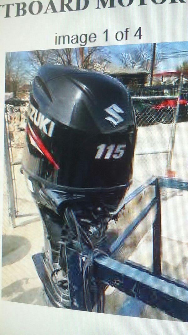 2018 Suzuki outboard motor DF115 for Sale in Miami, FL - OfferUp