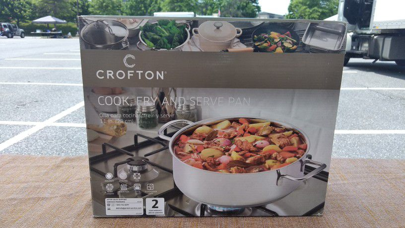 11 in Cook, Fry, and Serve Pan - Crofton