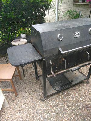 Backyard Classic Professional Twin Chamber Charcoal Grill ...