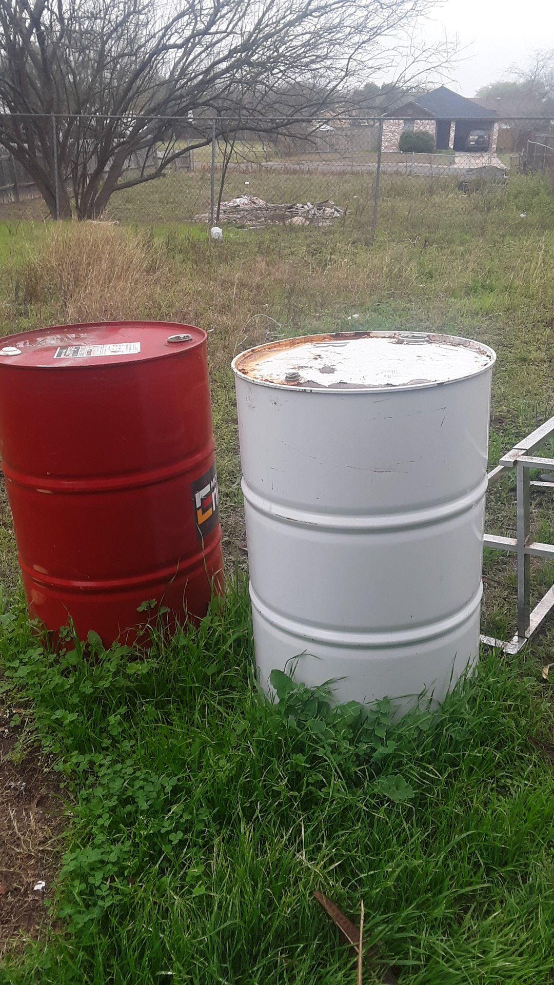 Barrels great for fires