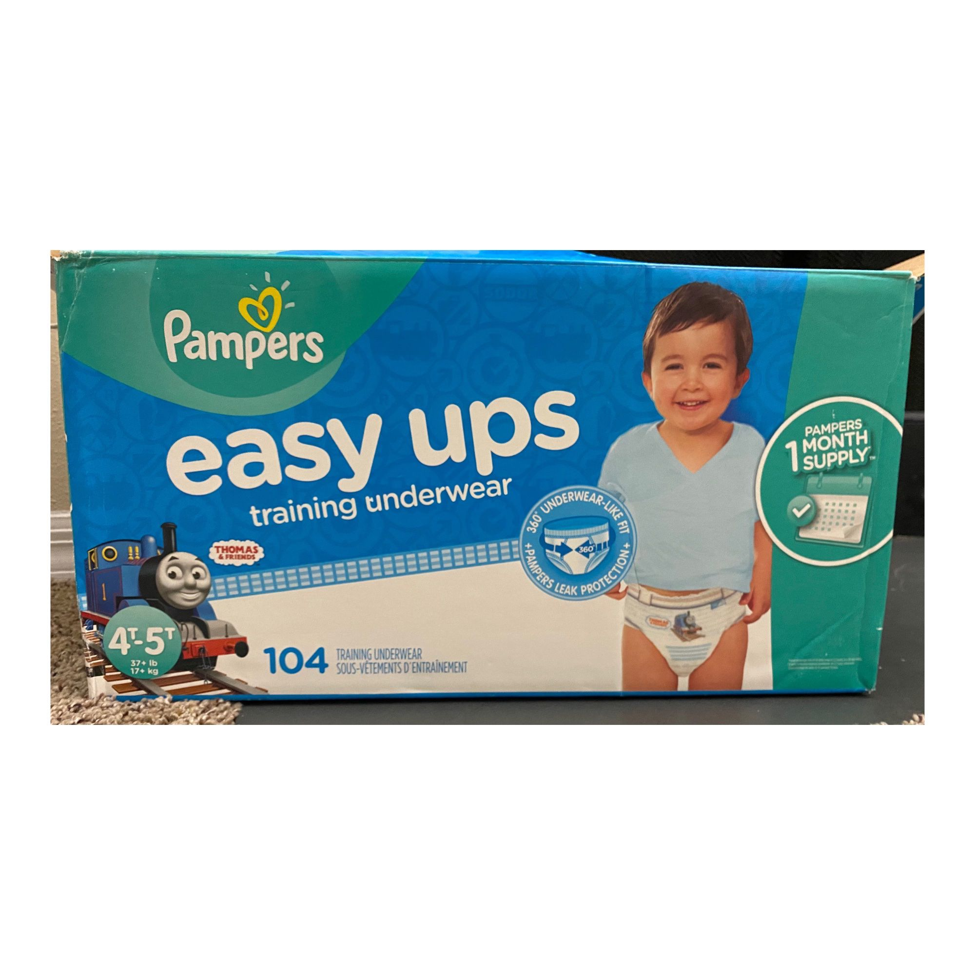 Pampers Easy Ups(4T-5T)- 52 Pants