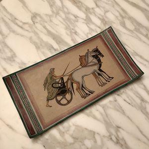 Italian Ceramic Art Plate for Sale in Seattle, WA