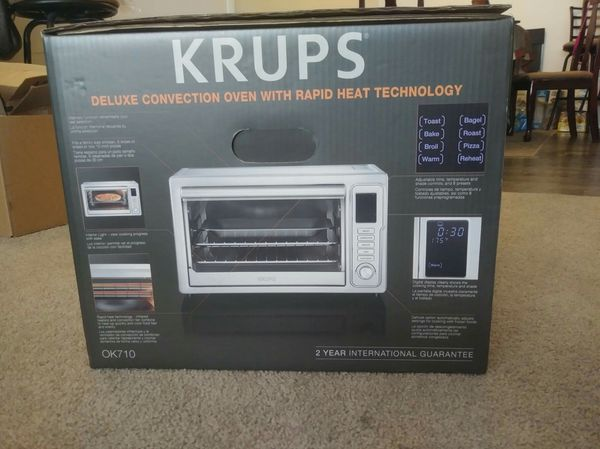 Krups Convection Toaster Oven Digital Display New