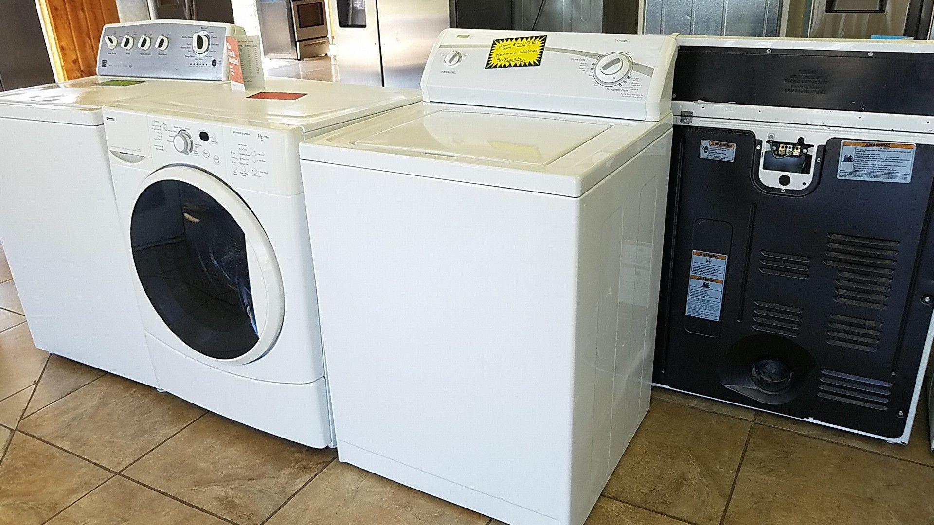 Heavy duty Kenmore washer