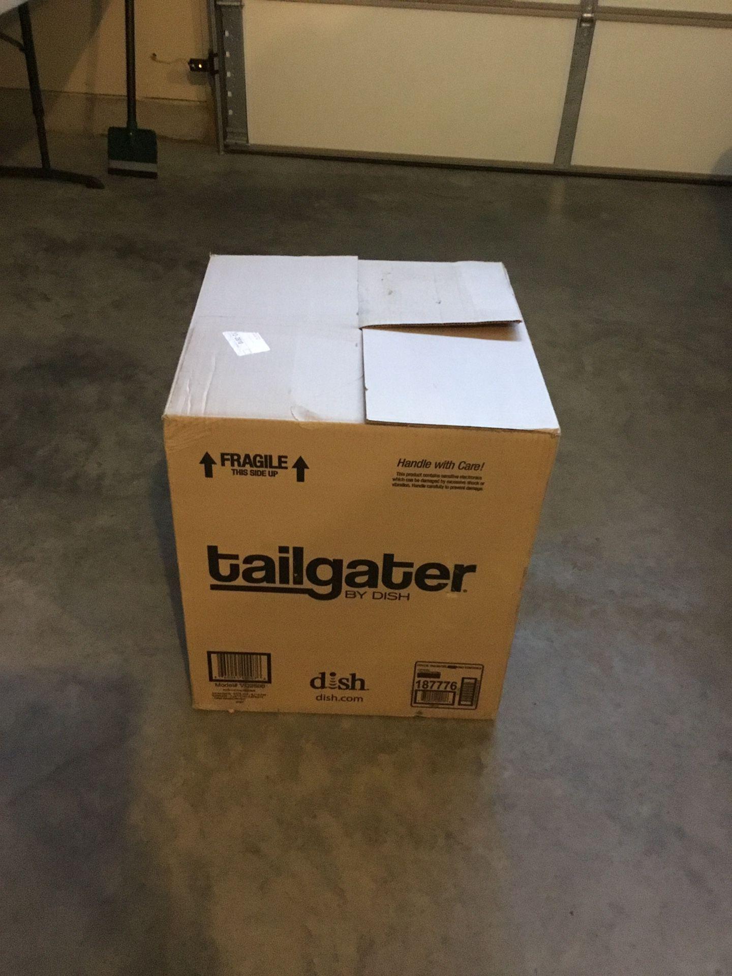 Photo Portable TV Antenna for RV