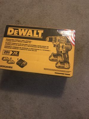 Dewalt drill xr brushless for Sale in Silver Spring, MD