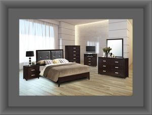 B120 11pc bedroom set with mattress for Sale in Washington, DC