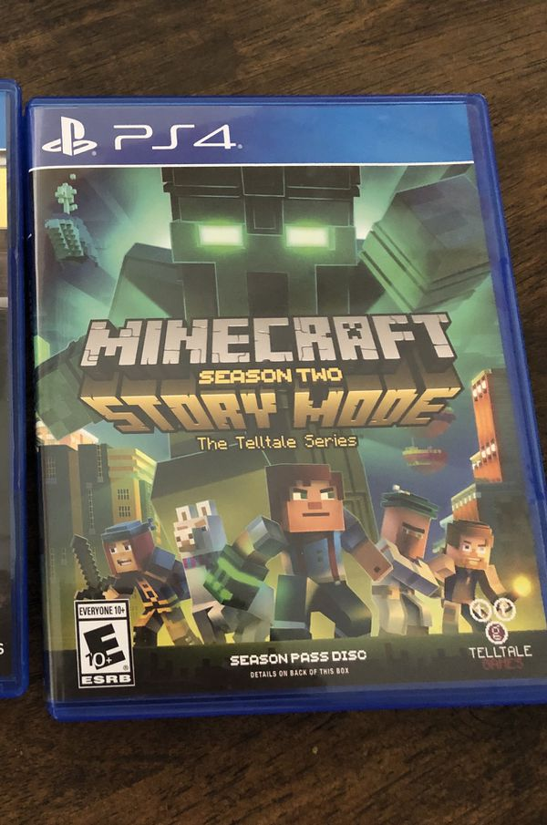 Ps4 Minecraft Story Mode Season 2 For Sale In San Antonio Tx