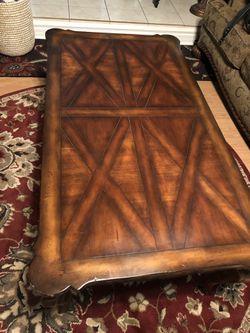 Rich wood Coffee table Thumbnail