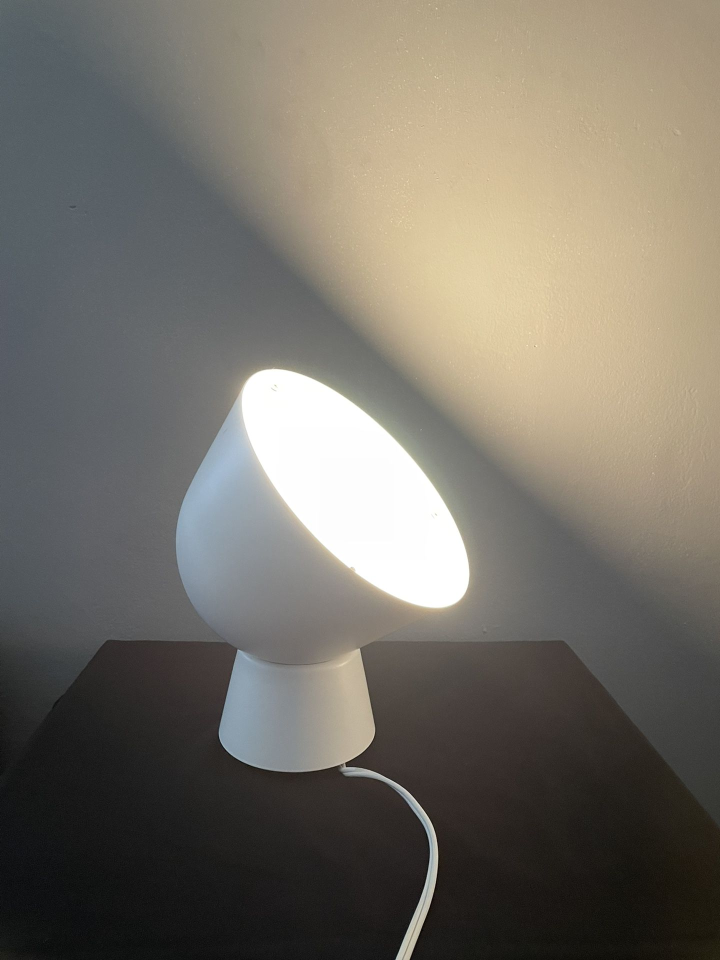IKEA Spot Light Accent Lamp White Used