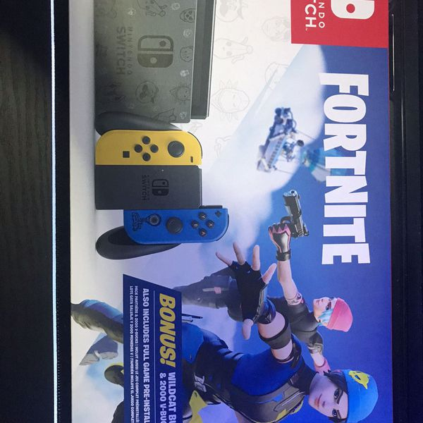 Nintendo Switch Fortnite Wildcat Bundle For Sale In Beaverton Or Offerup It was released on 10/30/2020. nintendo switch fortnite wildcat bundle