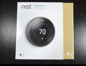 NEW Nest Learning Thermostat (Latest Generation) (Works with Alexa & Google) for Sale in Falls Church, VA