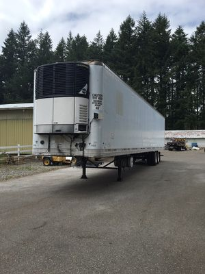 53 foot refr trailer great condition for Sale in Seattle, WA