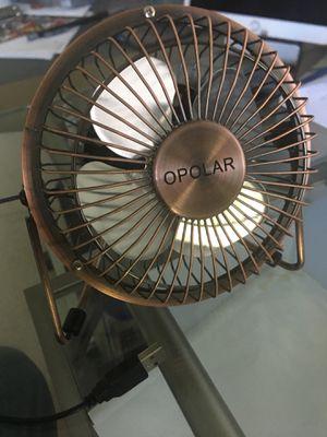 OPOLAR desk fan almost new for Sale in Chantilly, VA