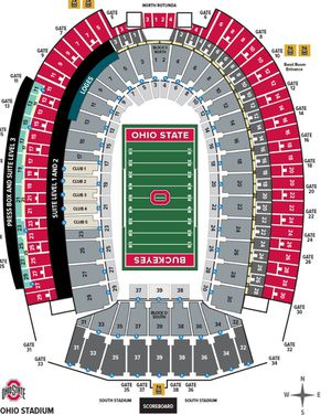 2 OSU vs Michigan tickets 35A for Sale in Columbus, OH