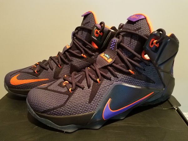 huge inventory a5024 0810b Lebron 12 eggplant sz 13 for Sale in Clinton, MD - OfferUp