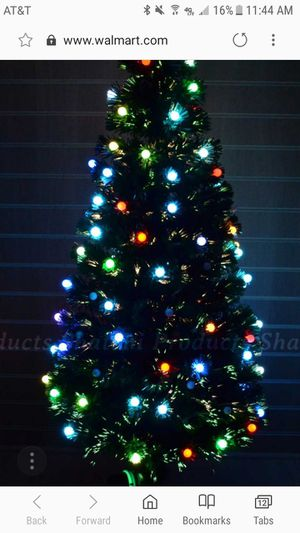 xmas tree multicolor 7ft tall very full and have lights for sale in chino hills - Chino Christmas Lights