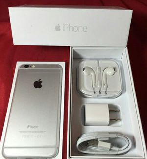 IPhone6 + Factory Unlocked + box and accessories + 30 day warranty for Sale in Alexandria, VA