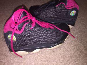 Nike air Jordan's retro 13 pink/black 2y for Sale in Richmond, VA