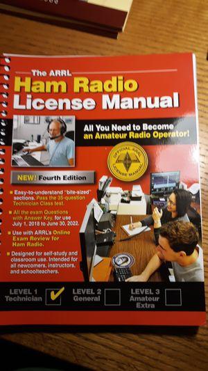 Ham Radio License Manual for Sale in San Antonio, TX - OfferUp