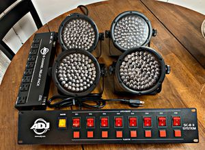 Chauvet Up lighting + 8ch Control for Sale in Frederick, MD