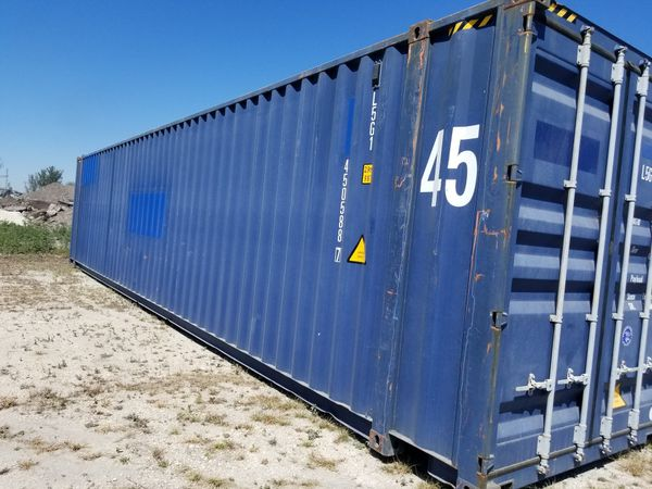 20ft 40ft 45ft cargo shipping storage containers for Sale in Naples