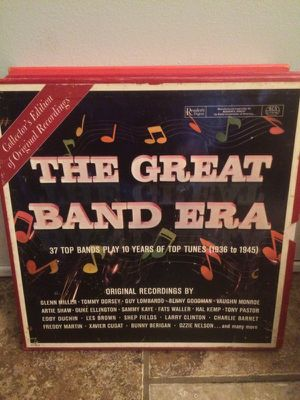 Great Band Era, 10 record box set for Sale in St. Louis, MO