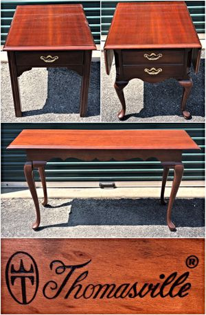 Thomasville Living Room Cherry Table Set * Two End Tables * Sofa Table for Sale in Baltimore, MD
