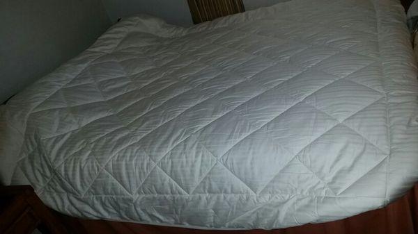 Chaps 500 Threat Count Maximum Comfort Supima Cotton Mattress Pad