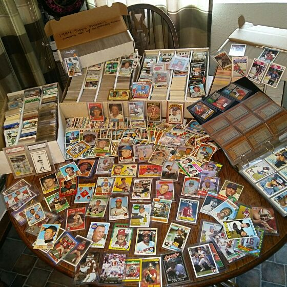 Vintage Baseball Card Collection For Sale In San Jose Ca Offerup
