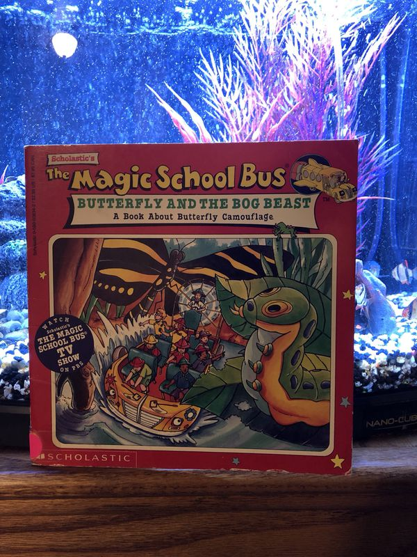 The Magic School Bus Butterfly The Bog Beast Book For Sale In