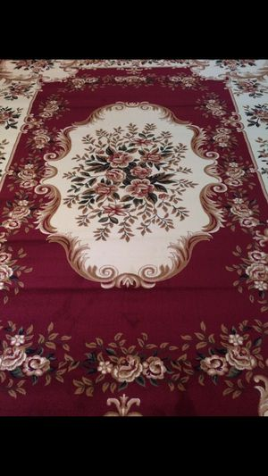 New traditional style rug size 8x11 nice red carpet Persian style rugs and carpets for Sale in Burke, VA