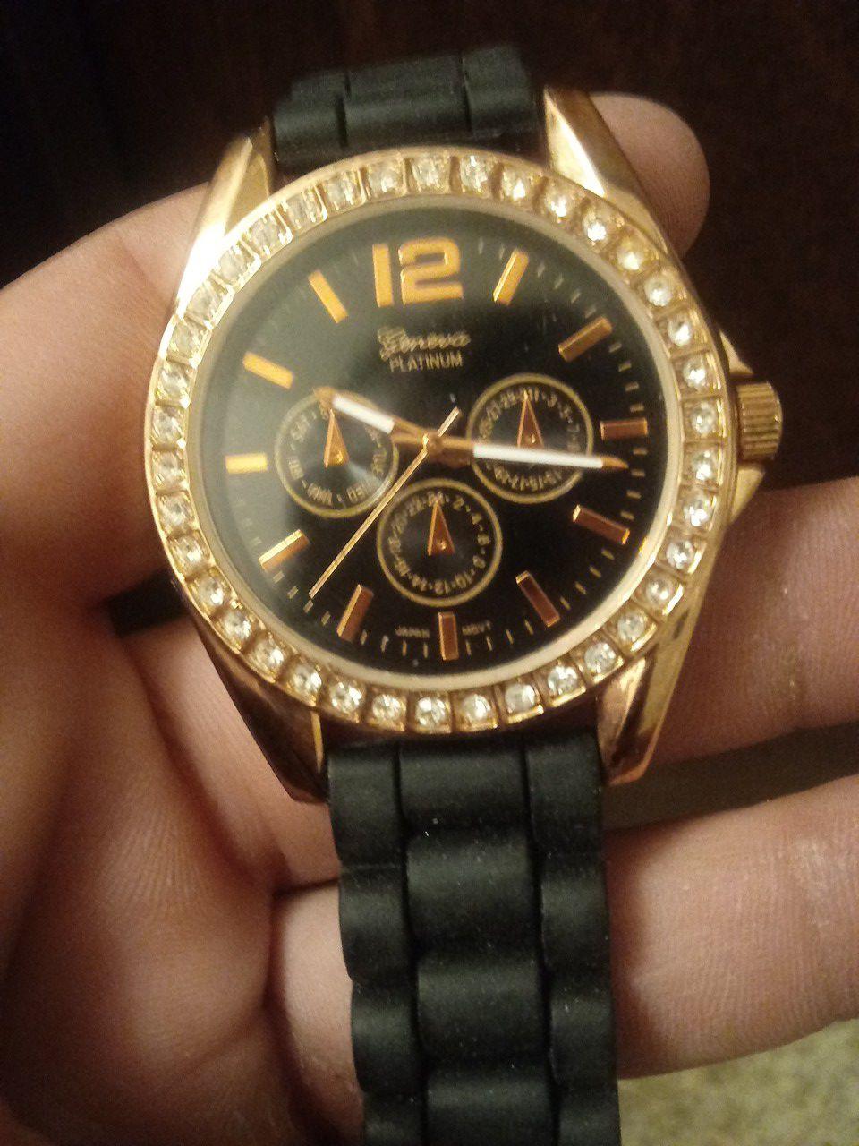 Geneva Platinum watch NO 7846