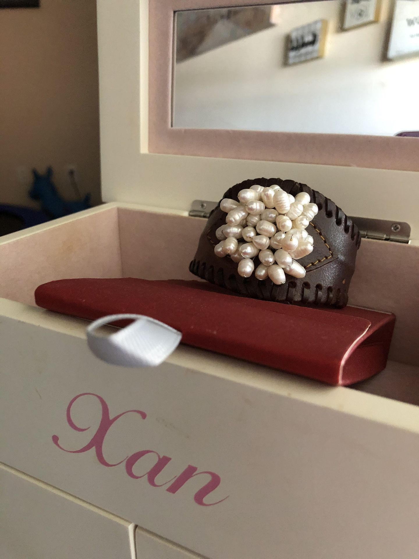 Brown lather Bracelet