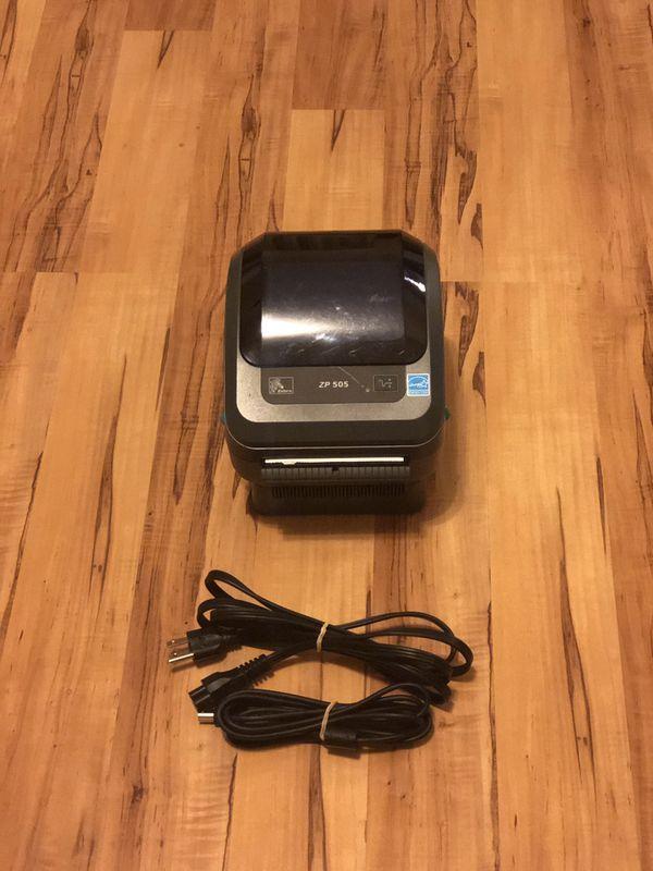 Zebra ZP 505 thermal label printer for Sale in Riverdale, GA - OfferUp