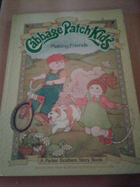 Cabbage Patch Kids (making friends) hardback book
