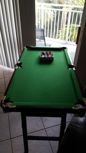 Foldable Mini Pool Table For In West Palm Beach Fl