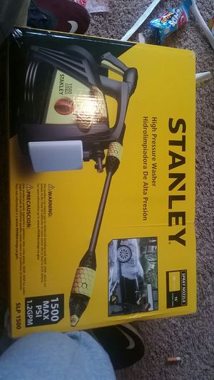 stanley high pressure washer brand new never used for Sale in Ellensburg, WA