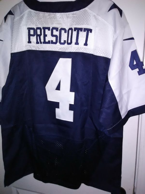 premium selection e9c87 180b5 New stitch dallas cowboys jersey prescott for Sale in Dallas, TX - OfferUp