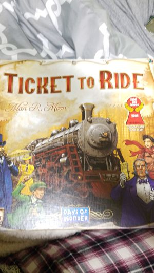 Ticket to ride board game for Sale in Eugene, OR