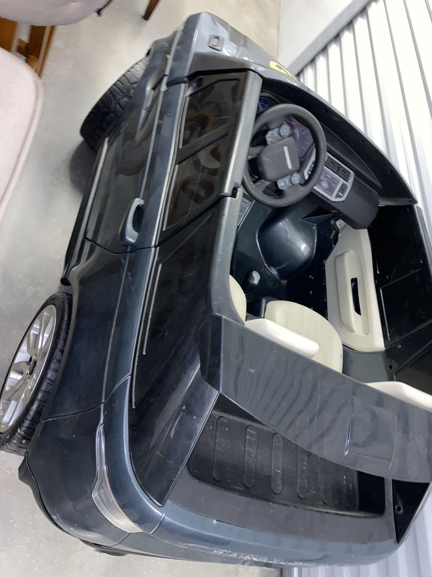 Battery Powered Range Rover