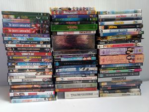 Photo Huge Lot of 70 Used DVDs