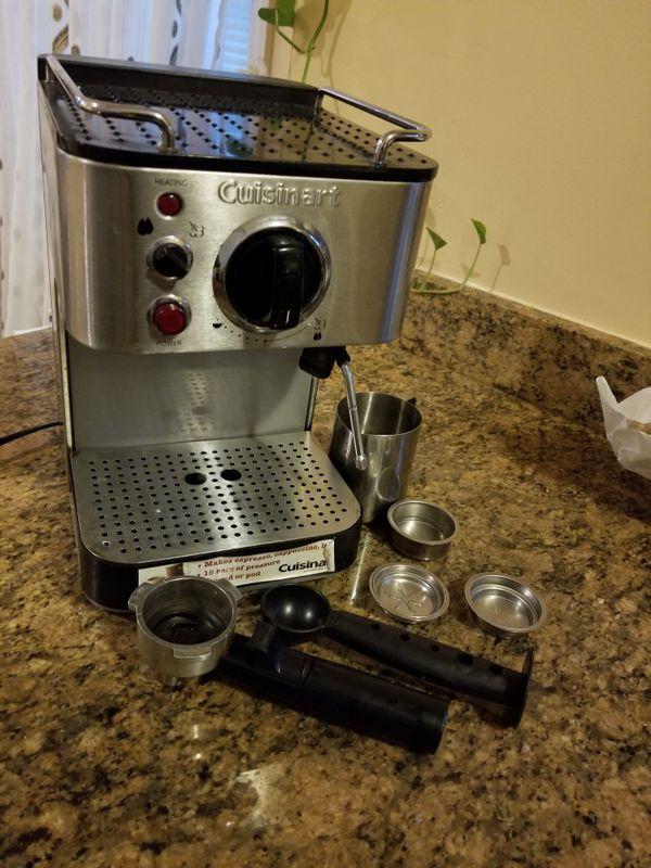 Cuisinart Manual Espresso Maker Em 100 Multicolor Stain And Still Coffee Tea Espresso Machines For Sale In The Bronx Ny Offerup