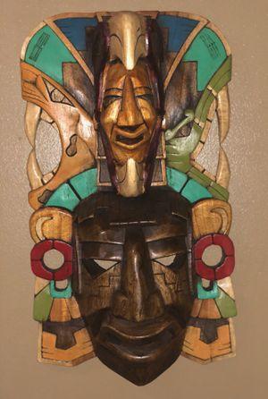 Mayan Mask - Hallf Skull top craft for Sale in Alexandria, VA