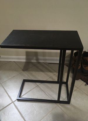 Steel small side table for Sale in Reston, VA