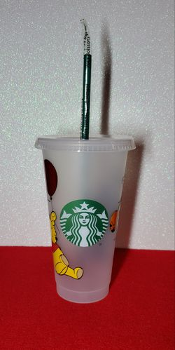 Winnie The Pooh And Tigger Starbucks Cold Cup Thumbnail