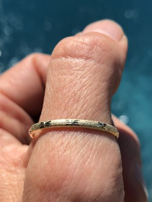 LAST ONE!!! 10k yellow Gold Thumb/Engagement/Wedding Ring Size 10 For good luck for Sale in Wingina, VA