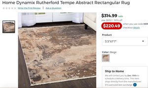 Area Rug for Sale in Washington, DC